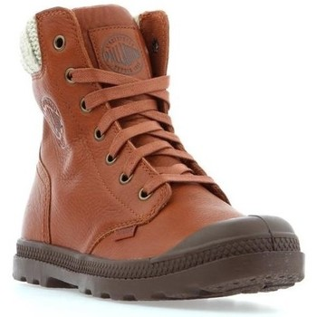 Skor Dam Boots Palladium Manufacture Pampa HI Knit LP Bruna