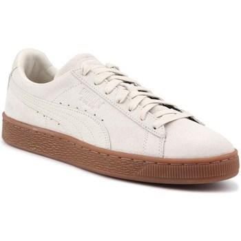 Skor Herr Sneakers Puma Suede Classic Natural Krämiga