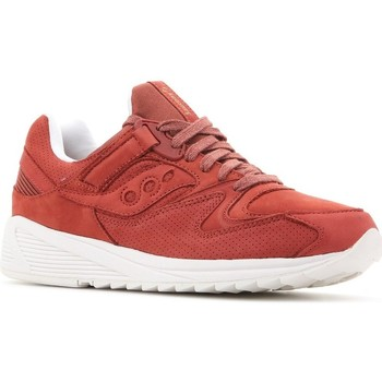 Skor Herr Sneakers Saucony Grid 8500 HT Röda