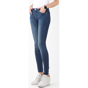 textil Dam Skinny Jeans Wrangler Natural River W29JPV95C navy