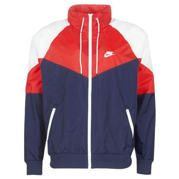 textil Herr Vår/höstjackor Nike M NSW HE WR JKT HD + Marin