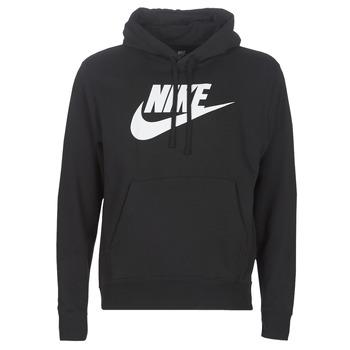 textil Herr Sweatshirts Nike M NSW CLUB HOODIE PO BB GX Svart