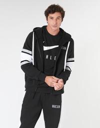 textil Herr Sweatshirts Nike M NSW NIKE AIR HOODIE FZ FLC Svart
