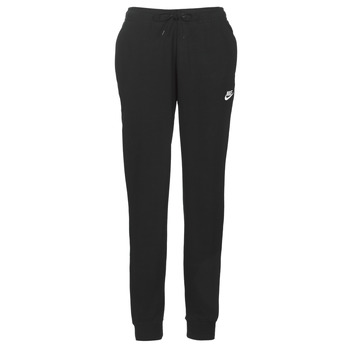 textil Dam Joggingbyxor Nike W NSW ESSNTL PANT REG FLC Svart