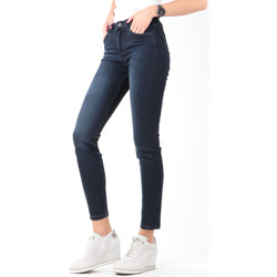 textil Dam Skinny Jeans Lee Scarlett High Crop Skinny Cropped L32BAIFA navy