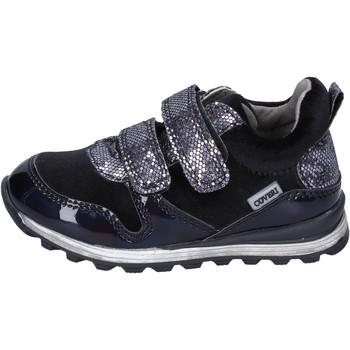 Skor Flickor Sneakers Enrico Coveri sneakers velluto pelle sintetica Nero