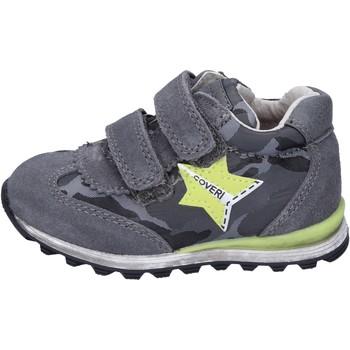 Skor Pojkar Sneakers Enrico Coveri sneakers camoscio tessuto Grigio