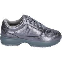 Skor Flickor Sneakers Lumberjack BR283 Silver