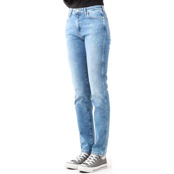textil Dam Skinny Jeans Wrangler Boyfriend Best Blue W27M9194O blue