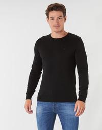 textil Herr Tröjor Tom Tailor FLORET Svart