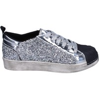 Skor Flickor Sneakers Holalà Sneakers BR384 Silver