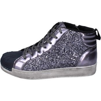 Skor Flickor Höga sneakers Holalà Sneakers BR385 Grå