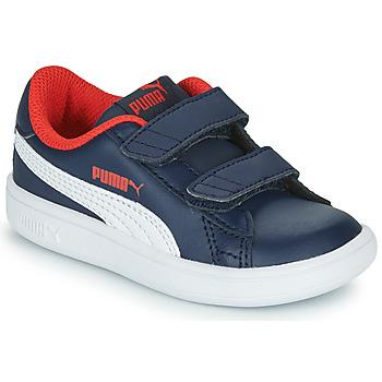 Skor Pojkar Sneakers Puma SMASH Marin