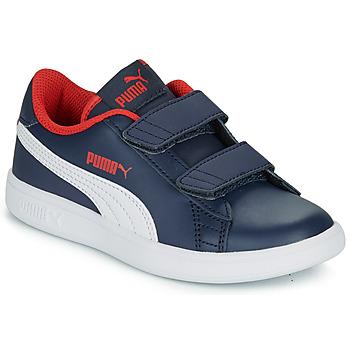 Skor Pojkar Sneakers Puma SMASH V2 L V PS Marin