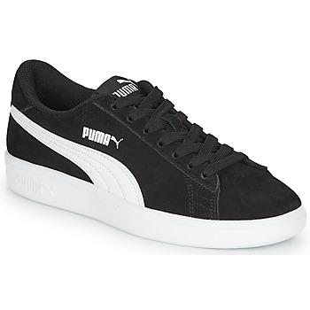 Skor Pojkar Sneakers Puma Puma Smash v2 SD Jr Svart