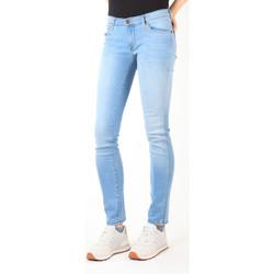 textil Dam Stuprörsjeans Wrangler Jeans  Blue Trace W22TF729D