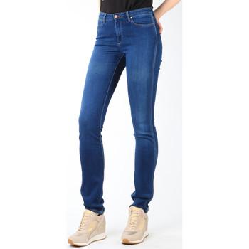 textil Dam Stuprörsjeans Wrangler Jeans  Cold Sky W26E8481V