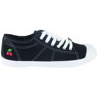 Skor Dam Sneakers Le Temps des Cerises Basic 02 Svart