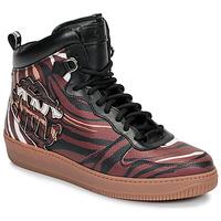 Skor Herr Höga sneakers Roberto Cavalli 8343 Flerfärgad