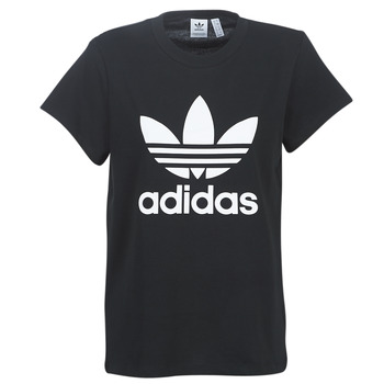 textil Dam T-shirts adidas Originals BOYFRIEND TEE Svart