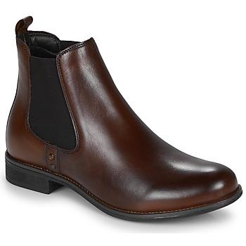 Skor Dam Boots André MAGIC Brun