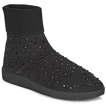 Skor Dam Höga sneakers André BAYA Svart