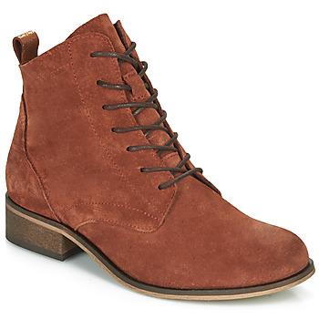 Skor Dam Boots André GODILLOT Orange