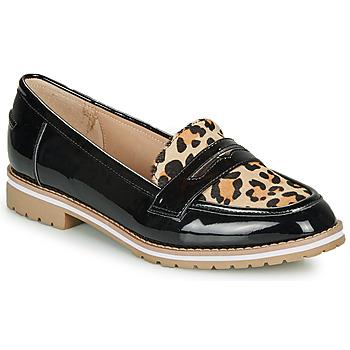 Skor Dam Loafers André PORTLAND Leopard