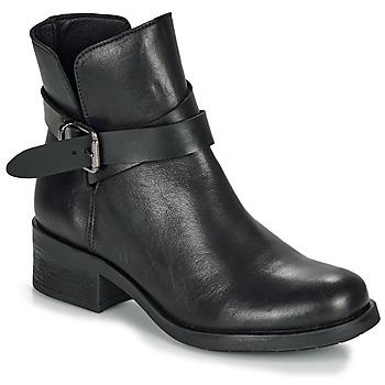 Skor Dam Boots André NELL Svart