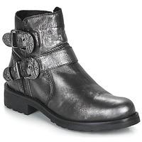 Skor Dam Boots André NORCROSS Silverfärgad