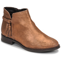 Skor Dam Boots André MILOU Guldfärgad
