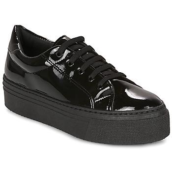 Skor Dam Sneakers André SODA Svart / Lack