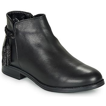 Skor Dam Boots André MILOU Svart