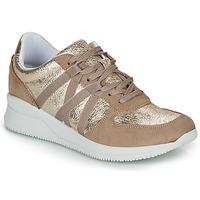 Skor Dam Sneakers André ALLURE Guldfärgad