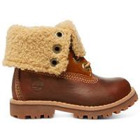 Skor Barn Boots Timberland Auth 6in shrl bt Brun