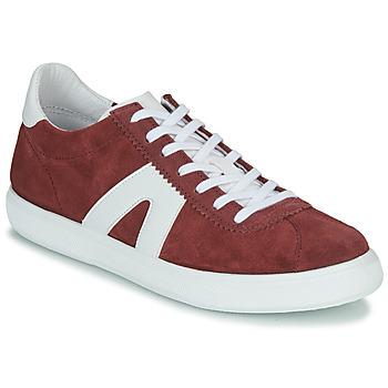 Skor Herr Sneakers André GILOT Bordeaux