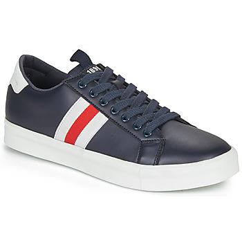 Skor Herr Sneakers André BRATON Marin