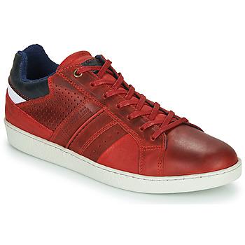 Skor Herr Sneakers André SNEAKSHOES Röd