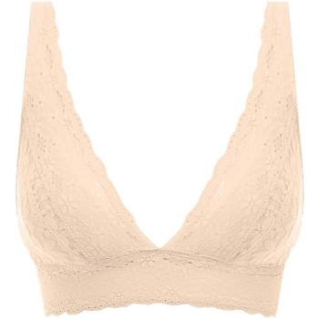 Underkläder Dam Triangel- & bygelfri bh Wacoal WA811205 NUE Beige