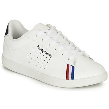 Skor Pojkar Sneakers Le Coq Sportif COURTSTAR GS SPORT BBR Vit