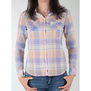 textil Dam Skjortor / Blusar Wrangler Western Shirt W5045BNSF Multicolor