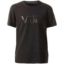 textil Herr T-shirts Vans Ap M Flying VS Tee VN0004YIBLK