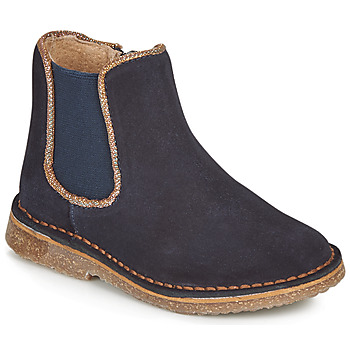 Skor Flickor Boots André ARIA Marin