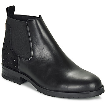 Skor Flickor Boots André SIXTINE Svart