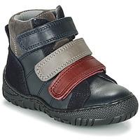 Skor Pojkar Boots André NOAM Marin