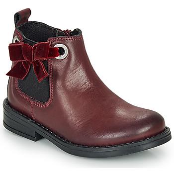 Skor Flickor Boots André VAL Bordeaux