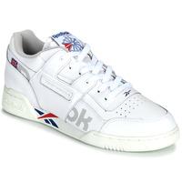 Skor Sneakers Reebok Classic WORKOUT PLUS MU Vit / Blå / Röd
