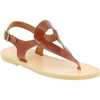 Skor Dam Sandaler Attica Sandals ARTEMIS CALF DK-BROWN marrone
