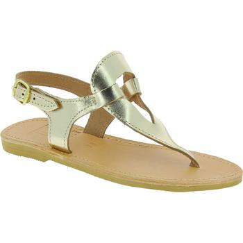 Skor Dam Sandaler Attica Sandals ARTEMIS CALF GOLD oro