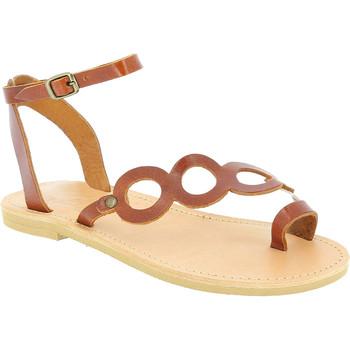 Skor Dam Sandaler Attica Sandals APHRODITE CALF DK-BROWN marrone